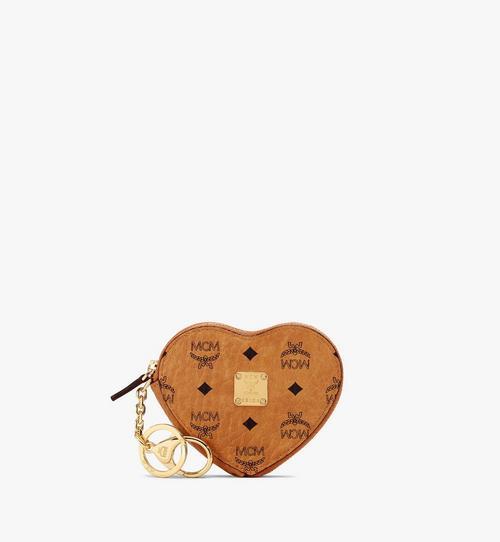 Porte-monnaie cœur en Visetos Original