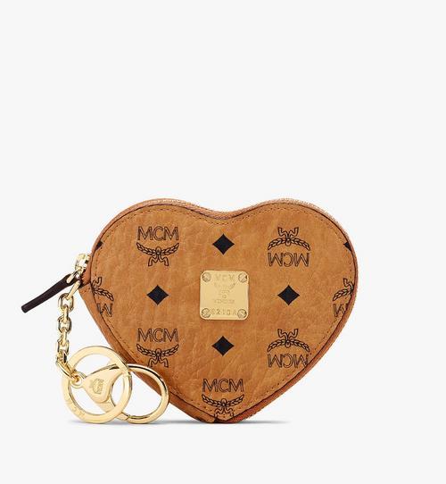 กระเป๋าเพาช์ใส่เหรียญ Heart ลาย Visetos