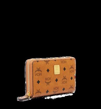 MCM Heritage Brieftasche mit Rundum-Reißverschluss in Visetos Alternate View 2