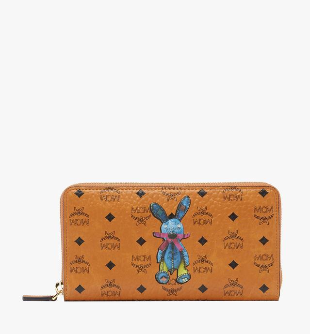 Rabbit Zip Around Wallet in Visetos