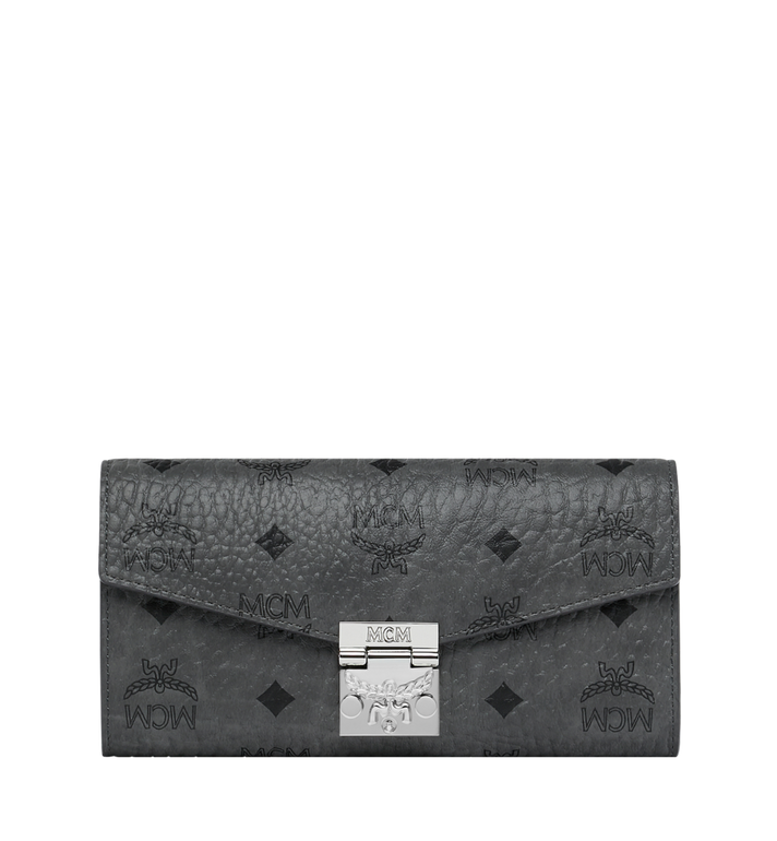 MCM Patricia Crossbody Wallet in Visetos Alternate View 1