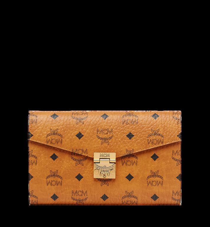 MCM Patricia Continental Crossbody Wallet in Visetos Alternate View