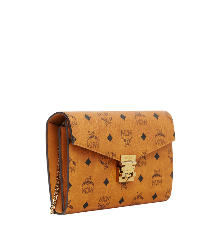 MCM Patricia Continental Crossbody Wallet in Visetos Cognac MYL8APA17CO001 Alternate View 2