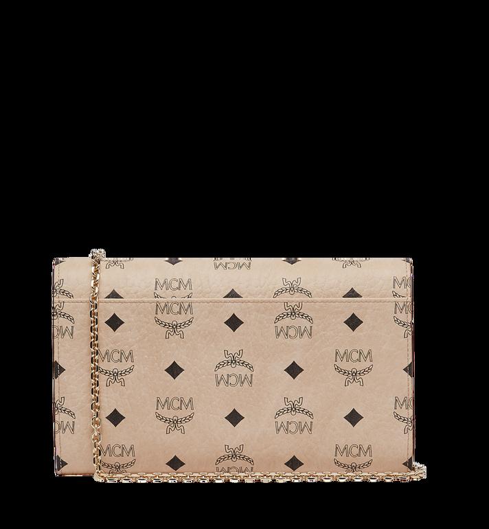 MCM Patricia Continental Crossbody Wallet in Visetos Beige MYL8APA17IG001 Alternate View 4