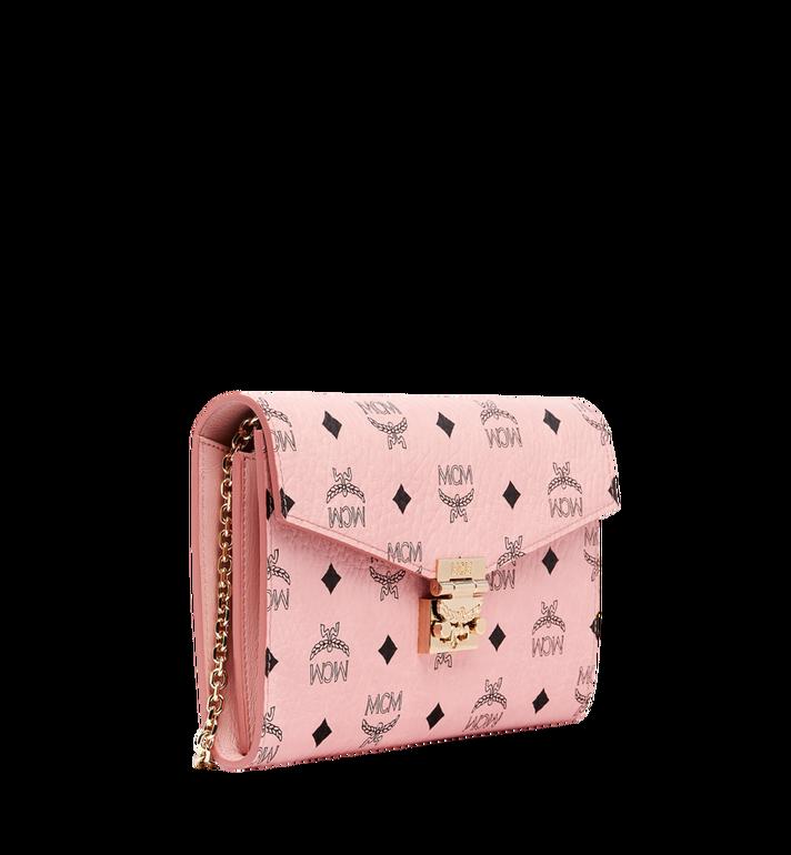 MCM Patricia Continental Crossbody Wallet in Visetos Pink MYL8APA17PZ001 Alternate View 2