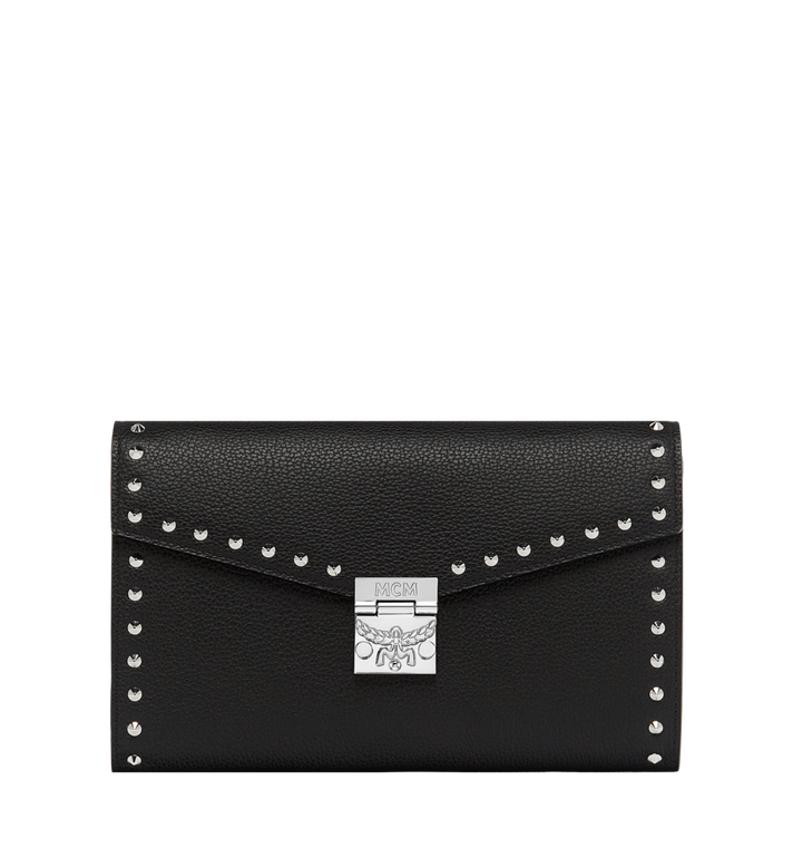 MCM Patricia Continental Wallet in Studded Outline Leather Alternate View