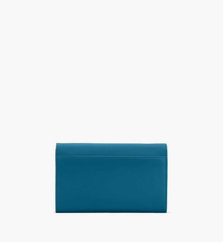 MCM Patricia Crossbody Wallet in Studded Park Ave Leather Blue MYL8APA19JF001 Alternate View 2
