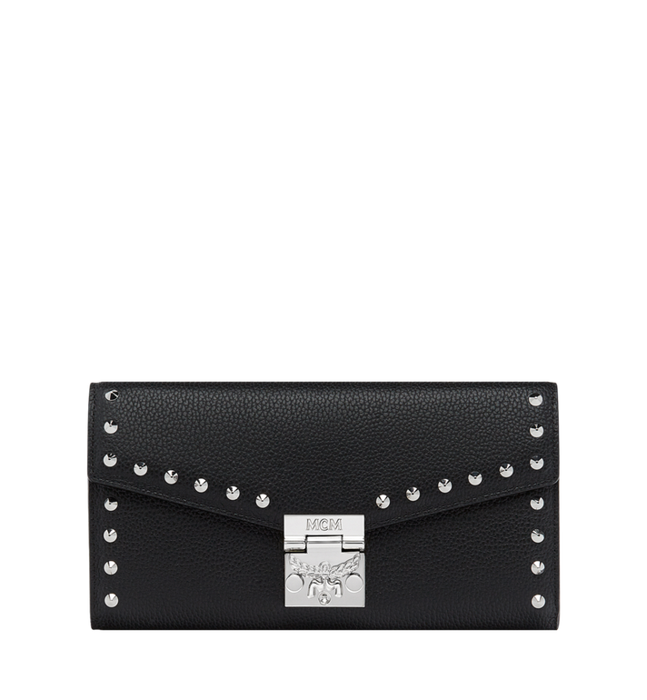 MCM Patricia Crossbody Wallet in Studded Outline Leather Alternate View