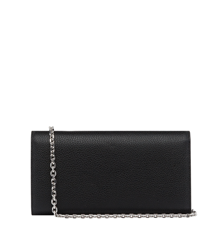 MCM Patricia Crossbody Wallet in Studded Outline Leather Black MYL8APA40BK001 Alternate View 3