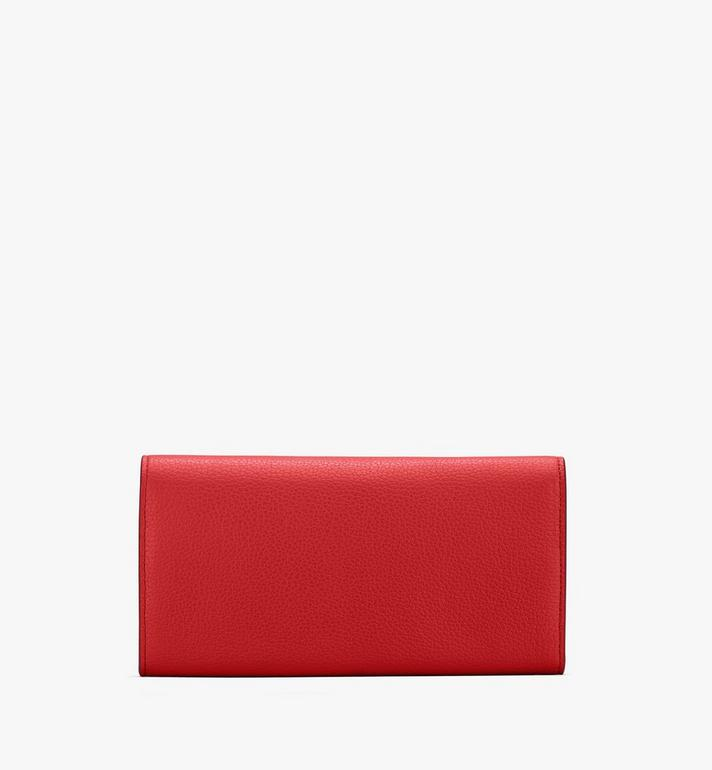 MCM Patricia Crossbody Wallet in Studded Park Ave Leather Red MYL8APA40R4001 Alternate View 2