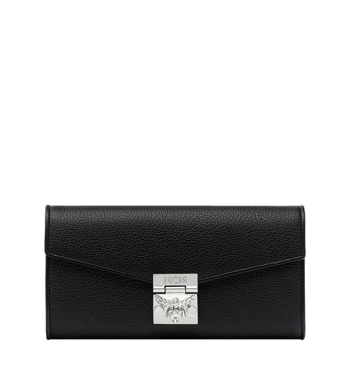 MCM Patricia Crossbody Wallet in Grained Leather Alternate View