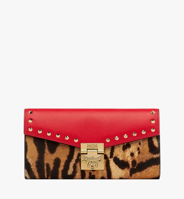 Patricia Crossbody Wallet in Leopard Combo