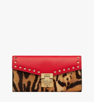 Patricia Crossbody Wallet in Leopard Combo