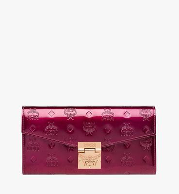 Patricia Crossbody Wallet in Patent Leather