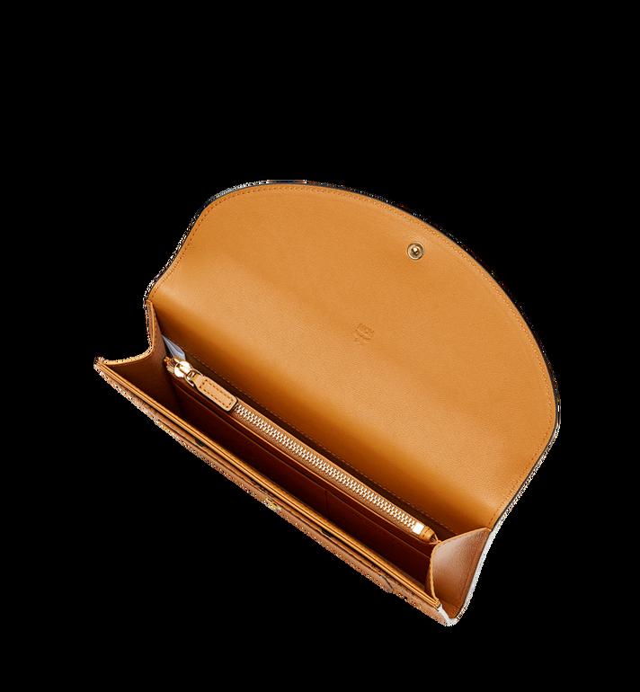 MCM Flap Wallet with Pouch in Visetos Leather Block Black MYL8AVI14BK001 Alternate View 4