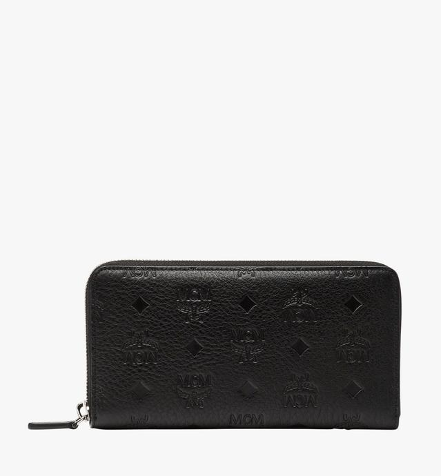 Klara Zip Around Wallet in Monogram Leather