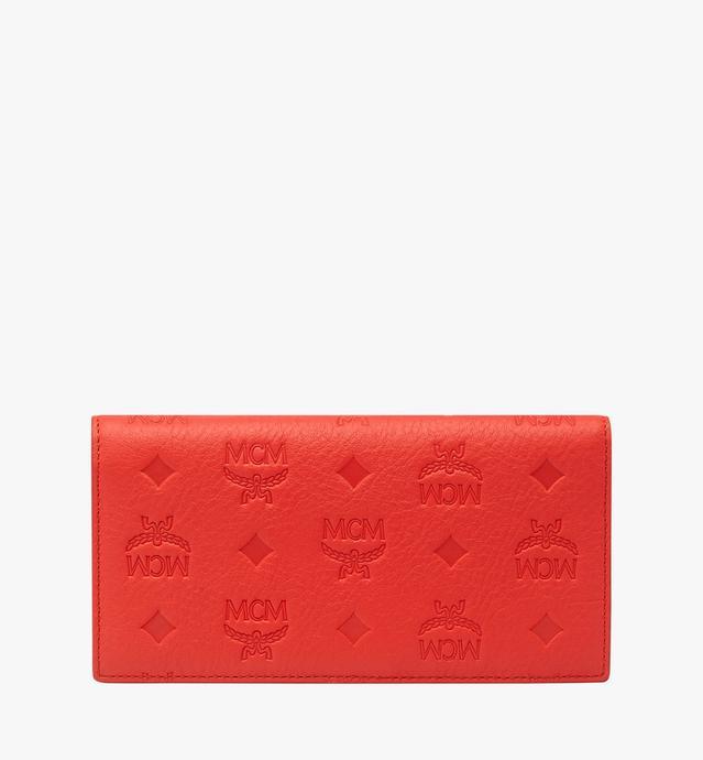 클라라 모노그램드 레더 장지갑