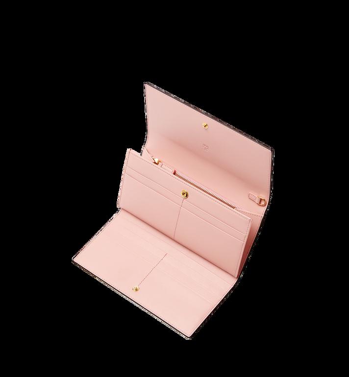 MCM Mina Bow Charm Three Fold Wallet Black MYL8SLL94BK001 Alternate View 4