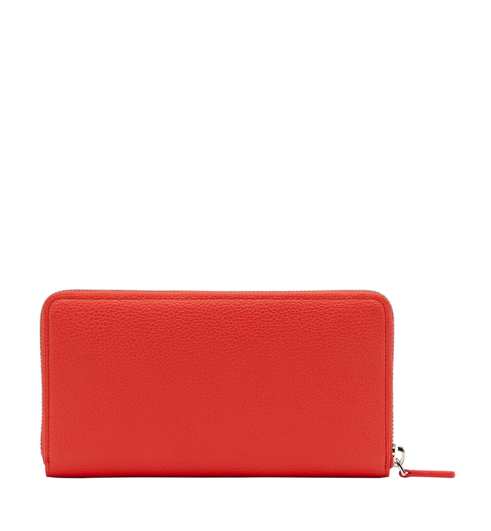 MCM Milla Zip Around Wallet in Grained Leather Alternate View 3