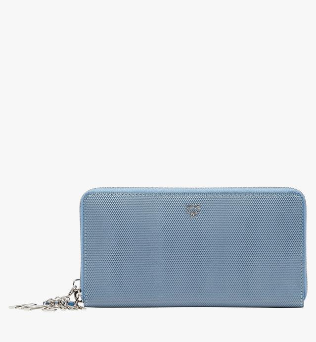 Otti Charm Zip Around Wallet in Leather