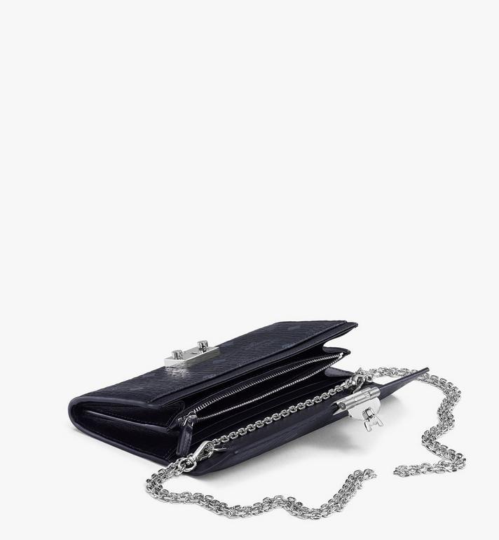 MCM Patricia Crossbody Wallet in Visetos Black MYL8SPA11BK001 Alternate View 3