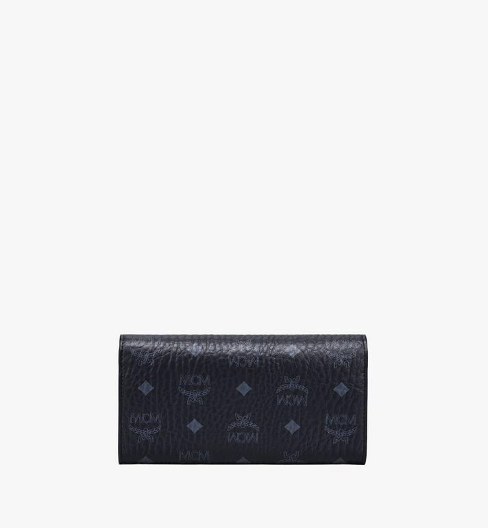 MCM Patricia Crossbody Wallet in Visetos Black MYL8SPA11BK001 Alternate View 4