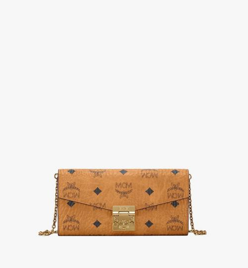 Patricia gefaltete Crossbody Brieftasche in Visetos