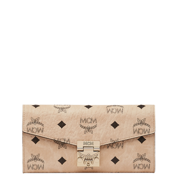 MCM Patricia gefaltete Crossbody Brieftasche in Visetos Alternate View