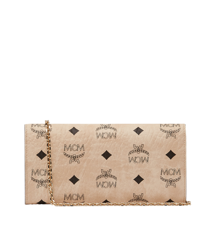 MCM Patricia Visetos 斜挎包式钱包 Beige MYL8SPA11IG001 Alternate View 3