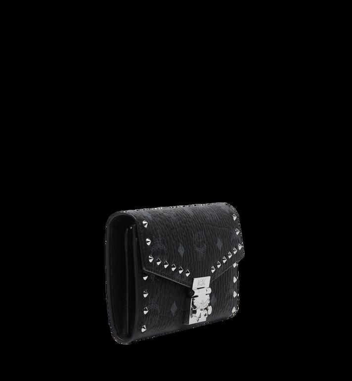 MCM Gefaltete Patricia Brieftasche mit Nieten in Visetos Black MYL8SPA30BK001 Alternate View 2
