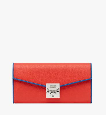 Patricia Crossbody Wallet in Tipped Leather
