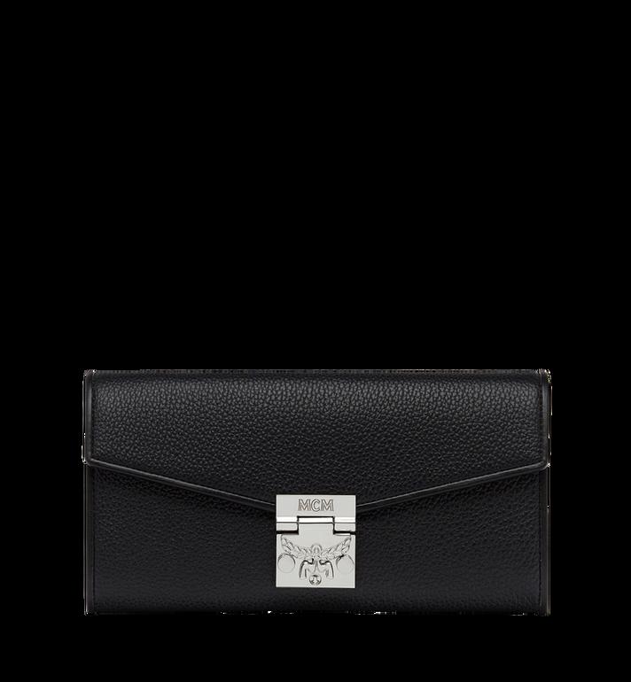 MCM Patricia gefaltete Crossbody Brieftasche aus gemasertem Leder Alternate View