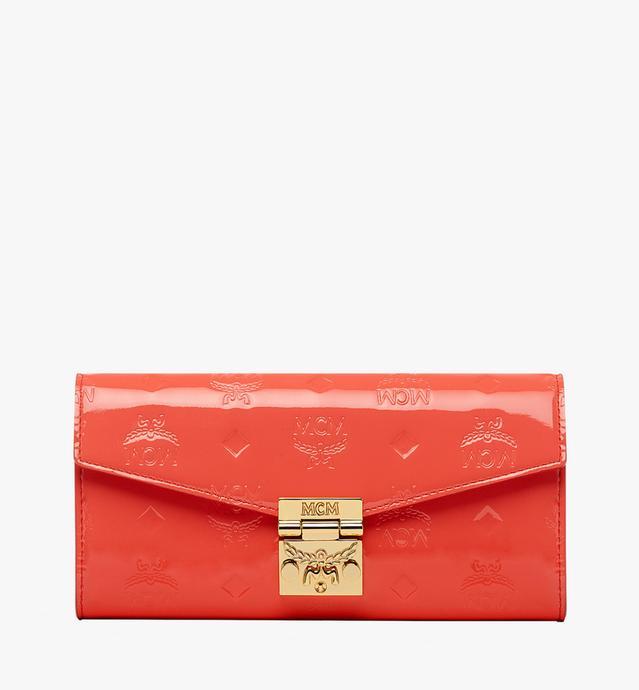 Patricia 漆皮两折斜挎包钱包
