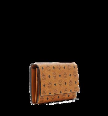 MCM Dreifach gefaltete Brieftasche aus Visetos Original Alternate View 2