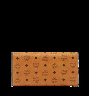 MCM Dreifach gefaltete Brieftasche aus Visetos Original Alternate View 3