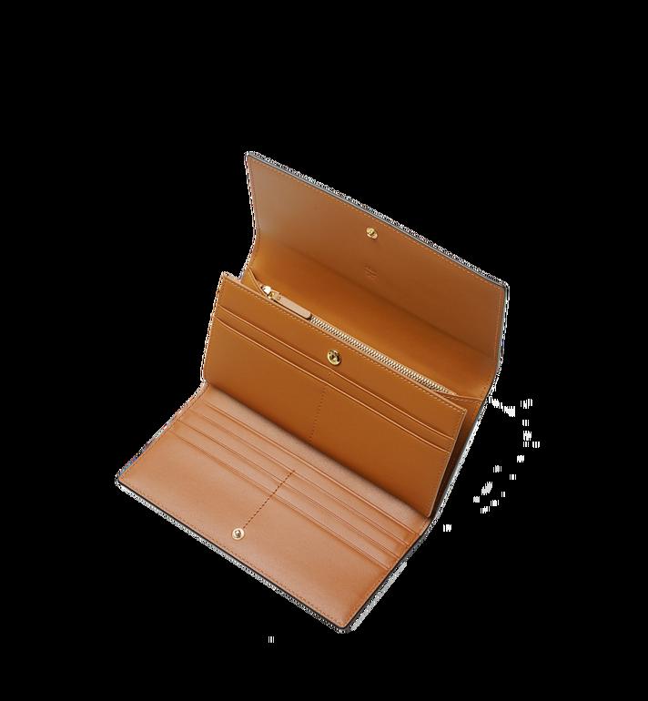 MCM Three Fold Wallet in Visetos Original Cognac MYL8SVI48CO001 Alternate View 4