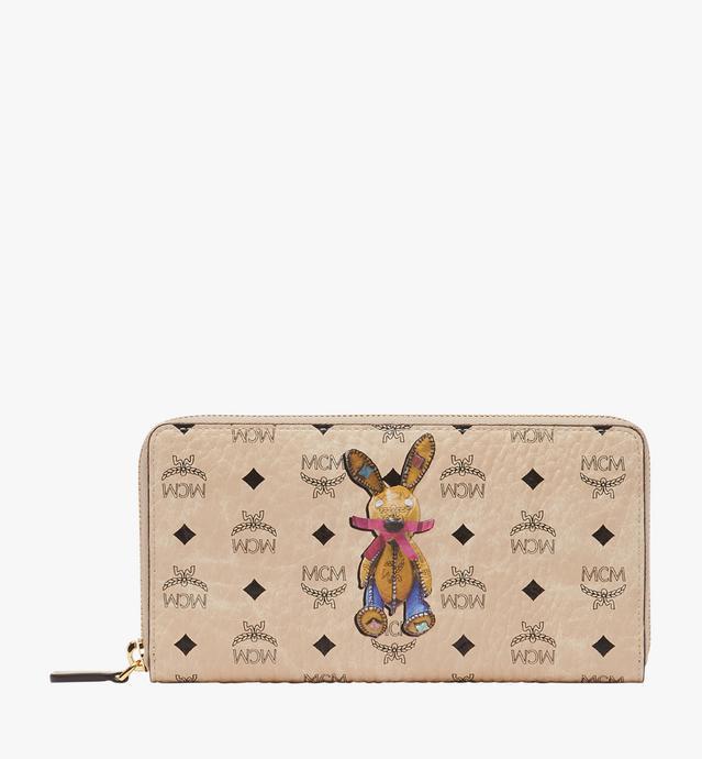 Rabbit Zip Around Wallet in Visetos