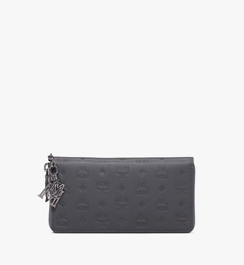 Klara Zip Wallet in Monogram Leather
