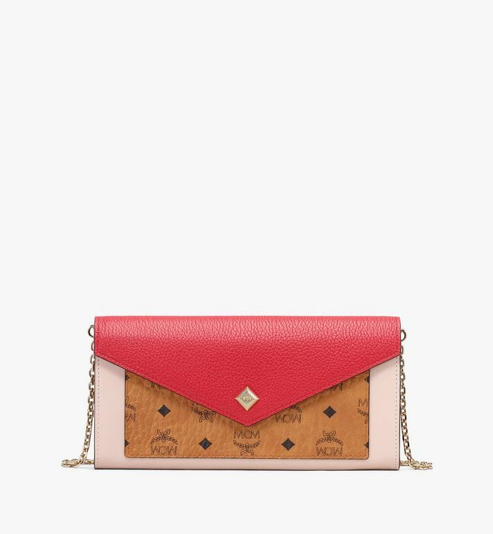 MCM Love Letter Crossbody Wallet in Colorblock Visetos  MYL9ALV01CD001 Alternate View 1