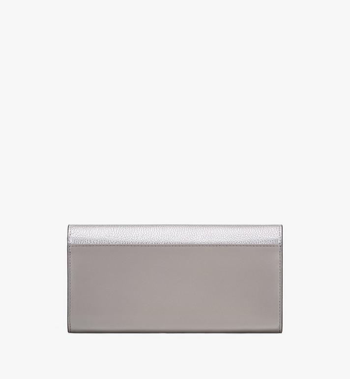 MCM Portefeuille à bandoulière Love Letter en cuir color-block Silver MYL9ALV01SE001 Alternate View 2