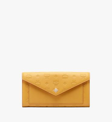 Love Letter Crossbody Wallet in Colorblock Visetos