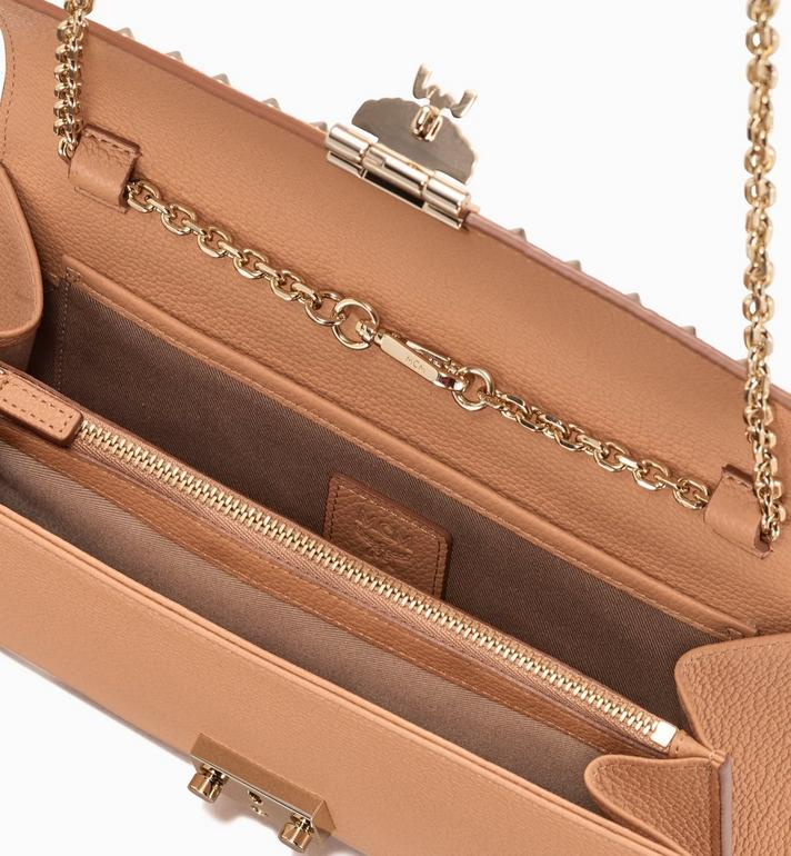 MCM Patricia Crossbody Wallet in Studded Park Ave Leather Beige MYL9APA19BC001 Alternate View 3