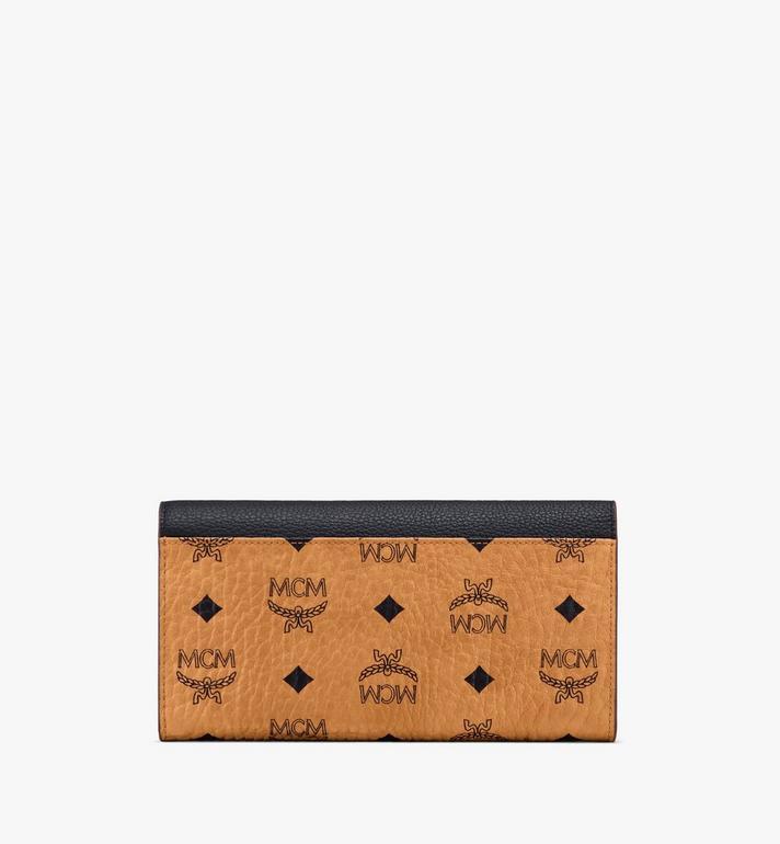 MCM Patricia Crossbody Wallet in Color Block Leather Black MYL9APA34BK001 Alternate View 2