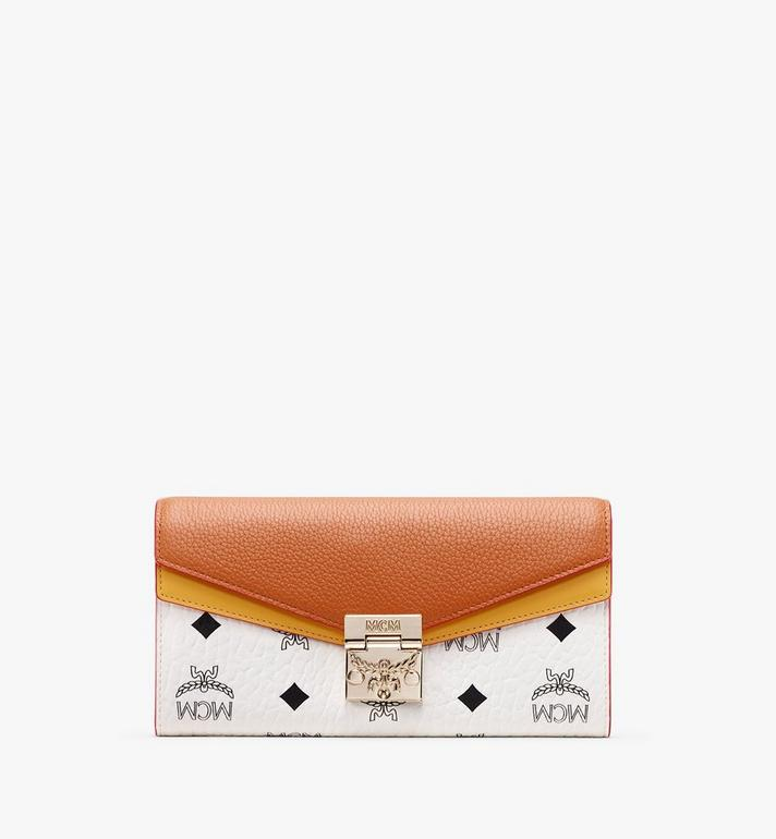 MCM Patricia Crossbody Wallet in Colorblock Leather Alternate View