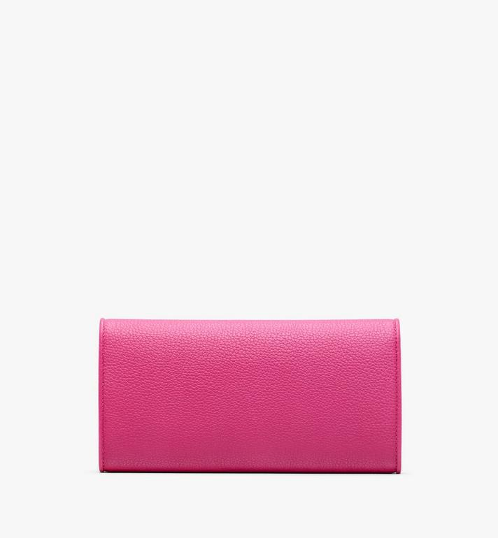 MCM Patricia Crossbody Wallet in Park Avenue Leather Pink MYL9APA41QS001 Alternate View 2