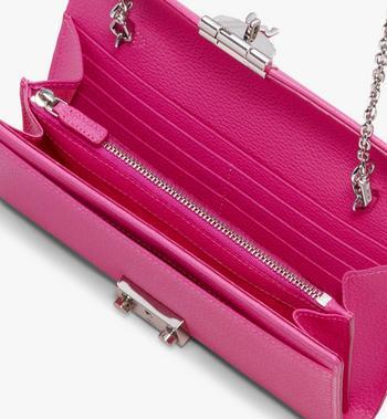 MCM Patricia Park Avenue 兩折式皮革錢包 Pink MYL9APA41QS001 Alternate View 3