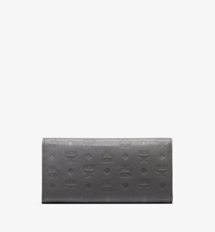 MCM Patricia Crossbody Wallet in Monogram Leather Grey MYL9APA55EC001 Alternate View 2