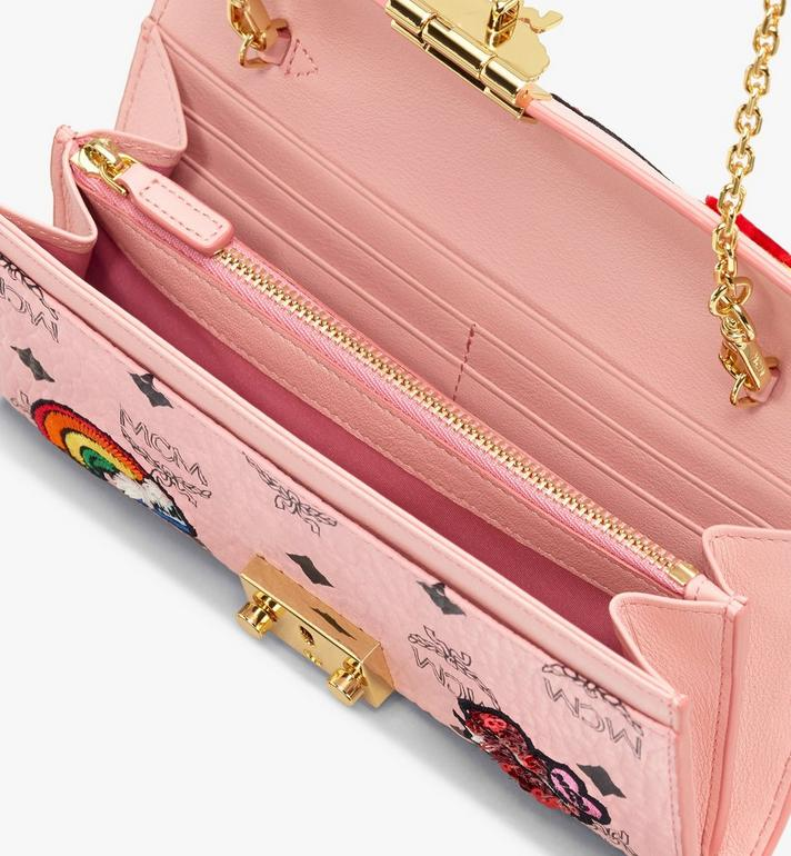 MCM Patricia Visetos Love对折式钱包 Pink MYL9APA61PZ001 Alternate View 3