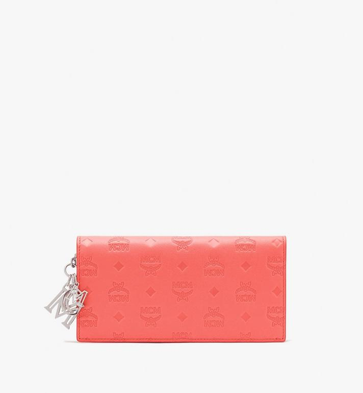MCM Klara Bifold Wallet in Monogram Leather Alternate View