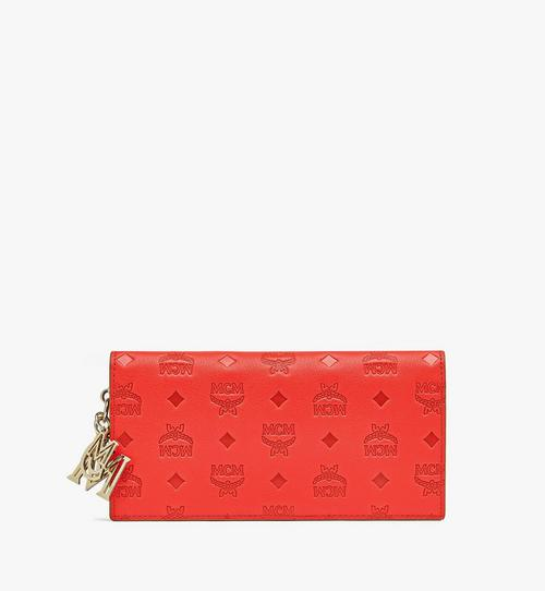 Klara Continental Wallet in Monogram Leather